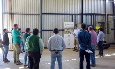 EXPOSICIÓN ENERGÍA SOLAR INDUSTRIA AGRÍCOLA EN VICUÑA - Solcor Chile