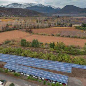 proyectos construcción paneles solares estacionamiento - solcor