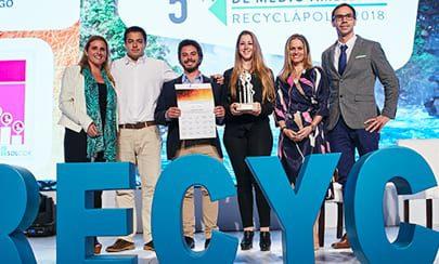 Premio nacional del Medioambiente Recyclápolis 2018 - Solcor