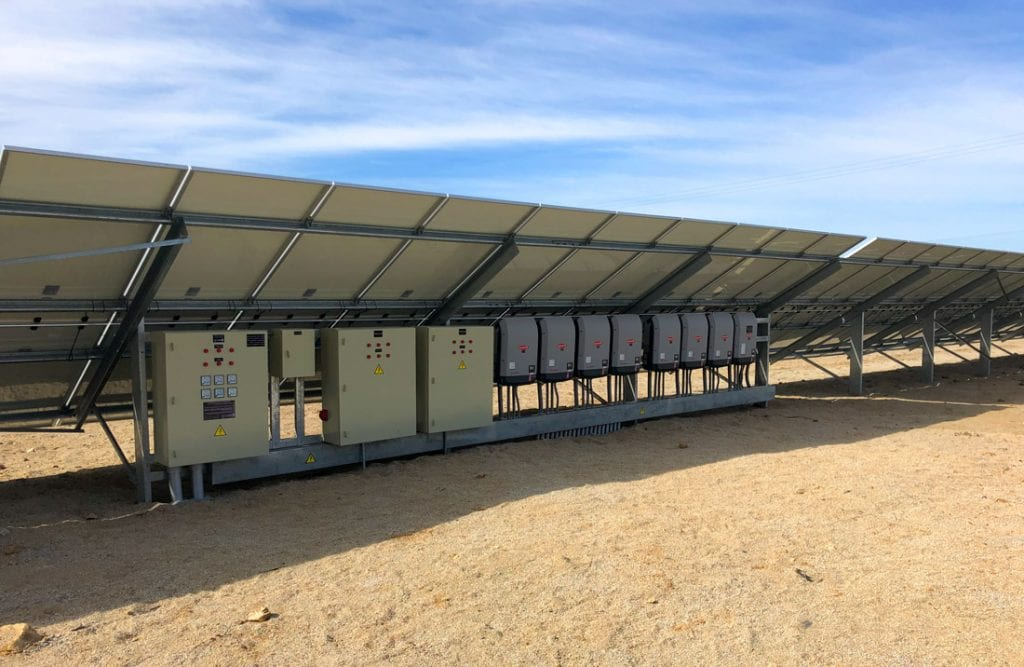 inversores paneles solares net billing - Solcor Chile