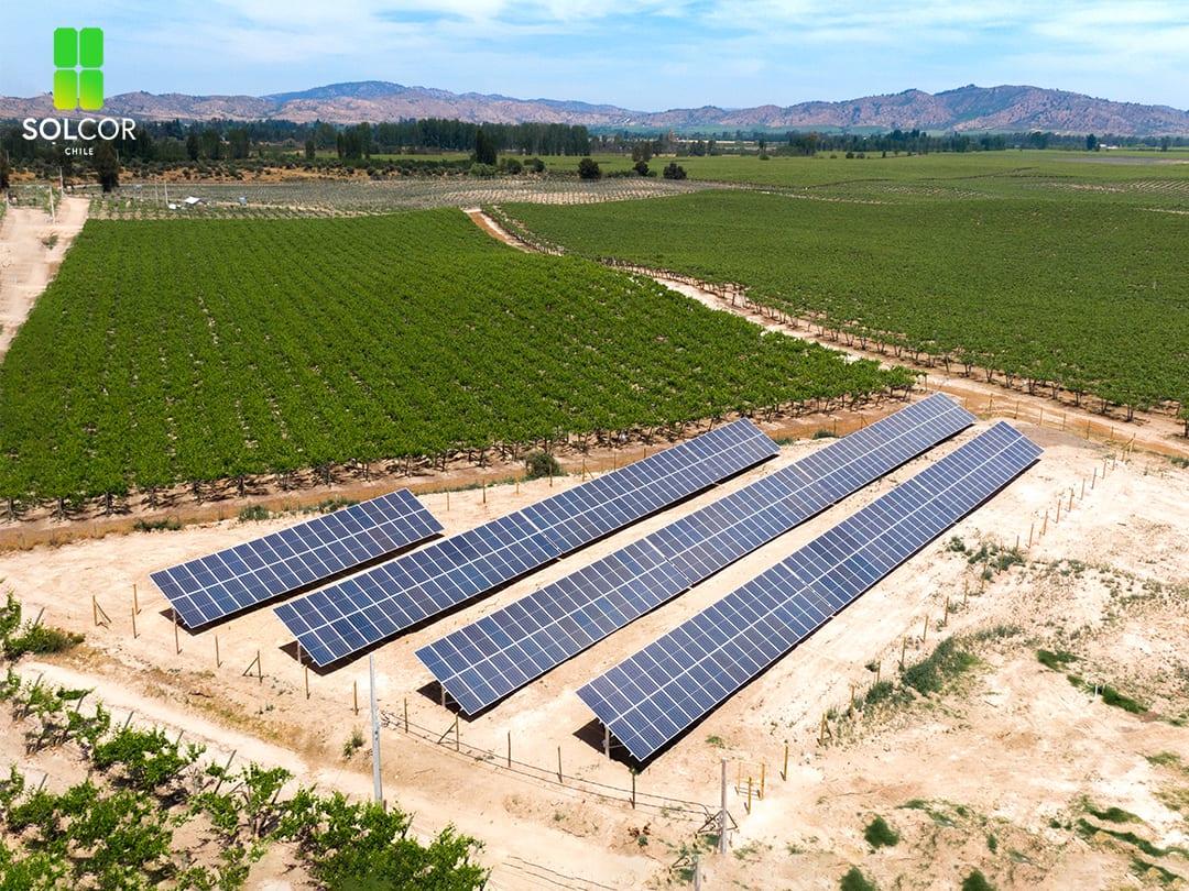 Proyecto Agrícola Población - Solcor Chile